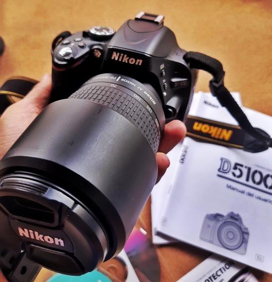 Nikon D5100 + Lente Af Zoom - Nikkor 70-300mm F/4-5.6 G