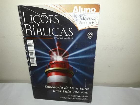 Livro Liçôes Biblícas Sabedoria De Deus Para Uma Vida Vitori