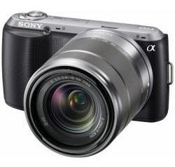Sony Alpha Nex-c3 De 16.2mp Con Lente 18-55mm