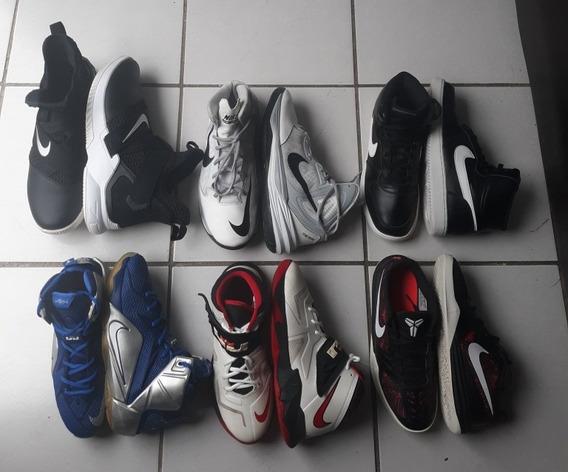 Lote 6 Pares De Tenis Nike Originales
