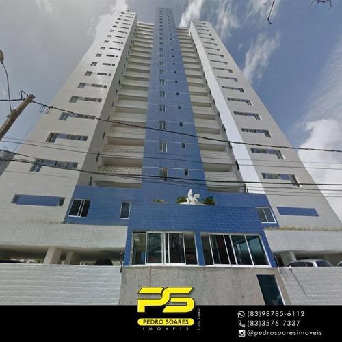 Apartamento Com 2 Dormitórios À Venda, 107 M² Por R$ 450.000 - Aeroclube - João Pessoa/pb - Ap3353