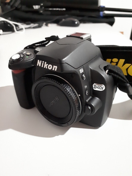 Nikon D40x Pouco Uso. 5546 Clicks + 18 55 Do Kit