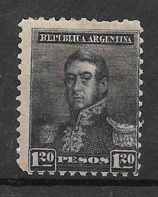 Argentina 1892 Tres Proceres Sol Grande D 11 Gj 187 Usd 20