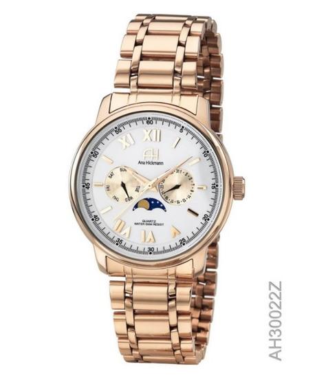 Relógio Ana Hickmann Original De Fábrica, Feminino, Ah30022z