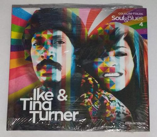 Cd Ike & Tina Turner  Mestres Da Música Clássica Folha Novo