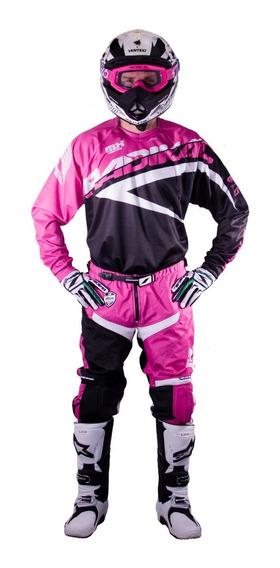 Jersey Motocross Radikal Mx Magenta