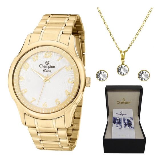 Relógio Feminino Original Champion - Nota Fiscal Sk30