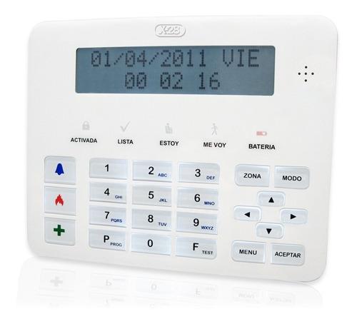 Teclado Lcd Alarma X28 Mpxh