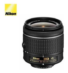 Nikon Af-p Dx 18-55mmnikon Com Carregador Mais 4 Pilhas Sony