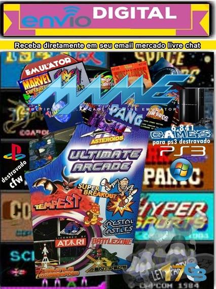Emulador M A M E 6 000 Games Pra Play3 Cfw Hen E Pc Ou Note Mercado Livre