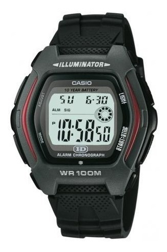 Relógio Casio Illuminator Standard Hdd-600-1avdf Original