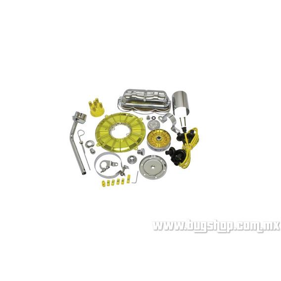 Kit De Estetica De Motor Amarillo Empi