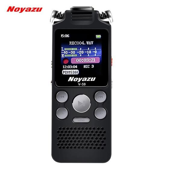 Gravador De Voz Digital Noyazu V59 Preto Importado