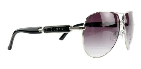 Óculos De Sol Aviador Guess Gu7297 Si35 Original