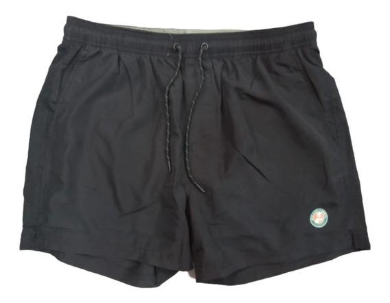 Malla Short De Baño Roland Garros Hombre Importada - Olivos