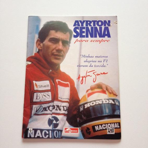 Revista Quatro Rodas Ayrton Senna Para Sempre