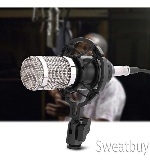 Profissional Auditivo Condensador Microfone Definir Estúdio