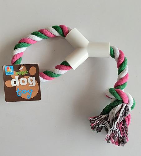 Imagen 1 de 1 de Juguete Para Mascota Para Morder De Cabuya Con Y De Plástico