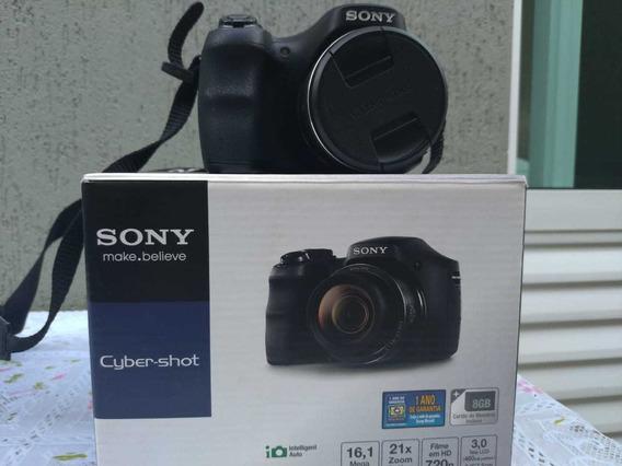 Câmera Digital Sony Dsc-h100