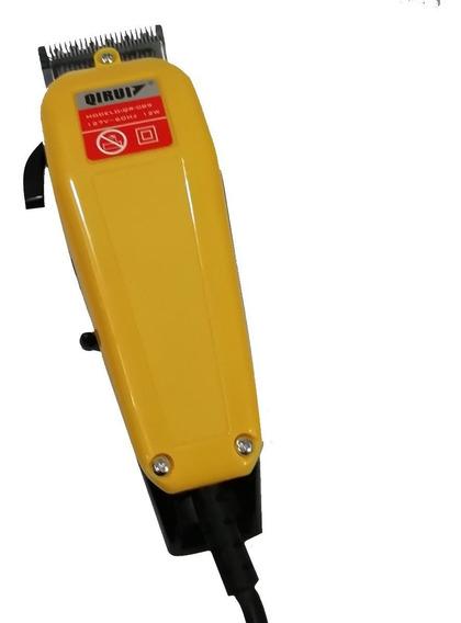 Maquina De Cabelo Barba Aparador Profissional 110v Com Fio
