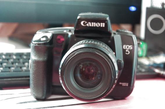 Camera Canon Eos5 Com Lente Tamron 28-200 Aspherical