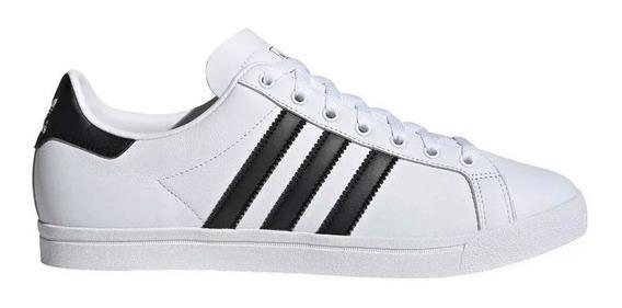 Zapatillas adidas Coast Star Blanco/negro - Corner Deportes