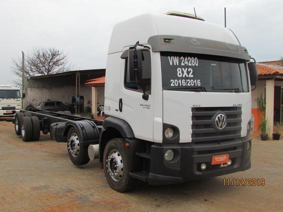 Vw 24280 8x2 Bitruck - Teto Alto - Chassi 11m - Unico Dono