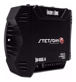 Módulo Amplificador Stetsom Iron Line Ir400.4 400w Rms