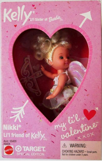 Nikki My Little Valentine Kelly Doll 2001 Objetivo...