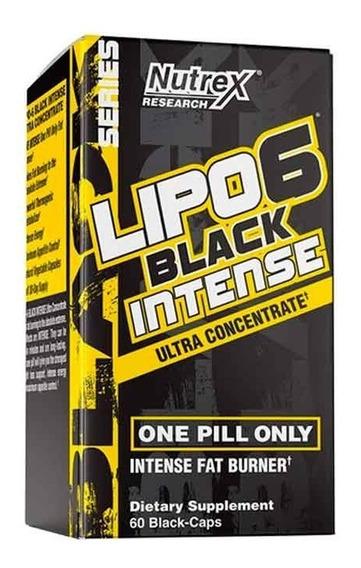 Lipo 6 Black Intense Ultraconcentrate 60 Caps.