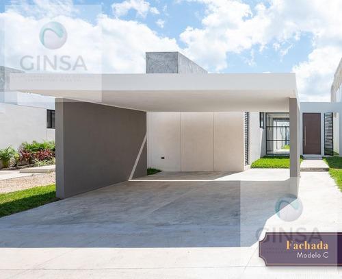 Imagen 1 de 11 de Palta 152 Mod. C    Residencias De Una Sola Planta En Venta Al Norte De Mérida En La Privada Palta 152