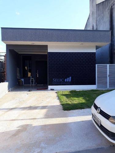 Imagem 1 de 15 de Villagio Di Sam Francesco - Casa Térrea, 76m², 3 Dorm, Jd Carolina, Jundiaí, Cod Ca0056 - Ca0056