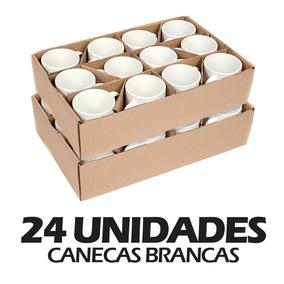 Canecas De Porcelana Pra Sublimação Aaa 24 Unidades