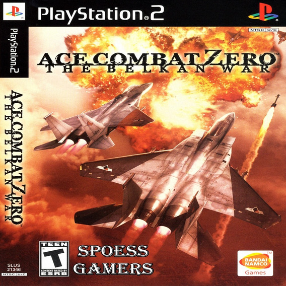 Ace Combat Zero The Belkan War Ps2 Desbloqueado Patchs