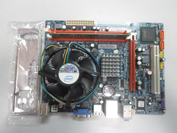 Kit Placa Mãe Mega G41t-m7 + Processador Dual Core E5700