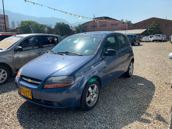 Chevrolet Aveo Five Mt 1.6 Azul 2008 Fgu973