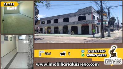 Sl721- Sala Comercial No Joaquim Távora, 25m2, Sem Taxa Cond