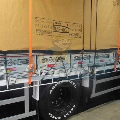 Lona Encerado Premium 3x12 Metros Ripstop Areia Caminhão Carga Seca Alta Impermeável Truck Transporte Frutas Verduras