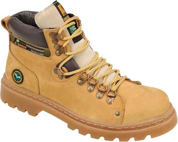 Bota Adventure Denton Timber Couro Albarus 8033 Amarelo