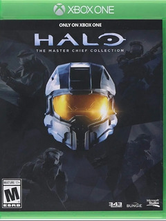 Halo The Máster Chief Juego Físico Xbox One