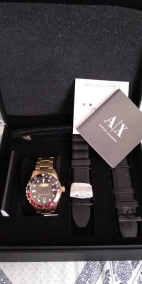 Relógio Armani Exchange Ax7007/4pn Troca Pulseiras