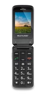 Multilaser Flip Vita Dual Sim 32 Mb Azul/preto 32 Mb Ram