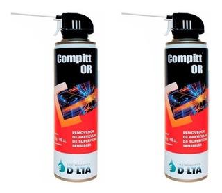 Aire Comprimido Removedor De Partículas Compitt Or 450g. X2!