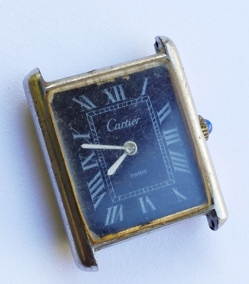 Antigo Relógio De Pulso Cartier Paris - No Estado