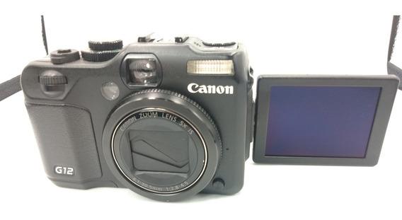 Câmera Canon Powershot G12 Semi Nova