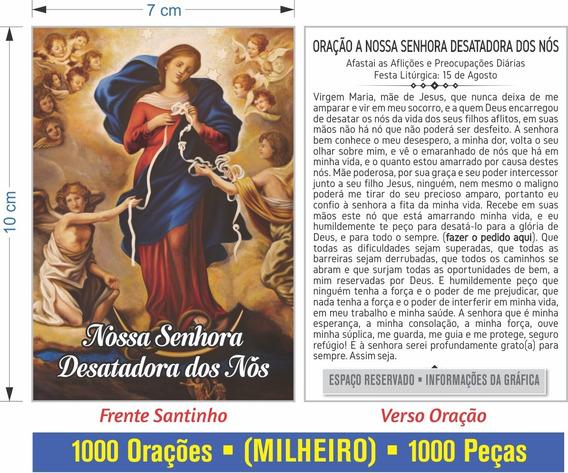Nossa Senhora Desatadora Dos Nós - Oração (1000 Peças)