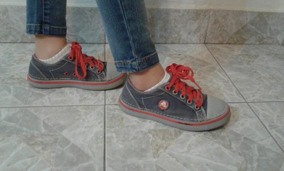 Zapatillas Para Niños Niñas Crocs Nro.32 Mide 22,5cm Suela