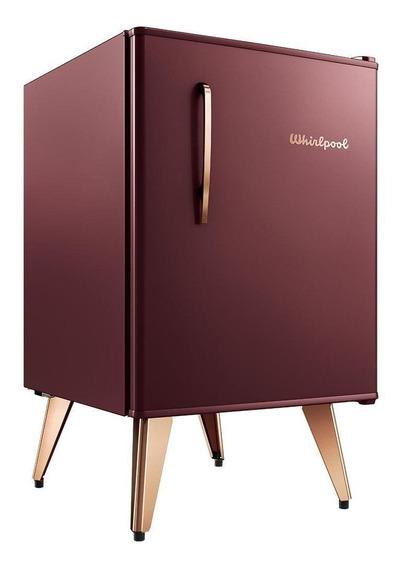 Heladera minibar Whirlpool WRA09 marsala wine 76L 220V