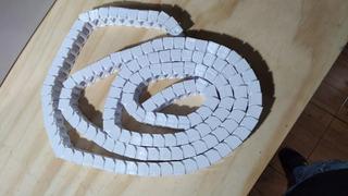 Cadena Porta Cables Blanca