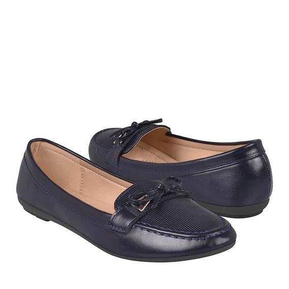 Zapatos Casuales Para Dama Furor 15758 Marino